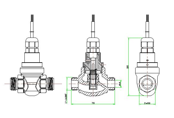 Gpf45 040 Oil Flow Switch